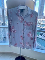 Used Floral Shirt Medium 🛍NEW in Dubai, UAE