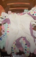 Used Baby girl used clothes 40pcs 0-3 months  in Dubai, UAE