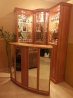 Used Bar display with cabinet set  in Dubai, UAE