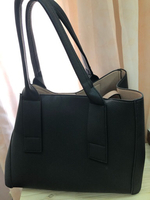 Used Black tote bag  in Dubai, UAE