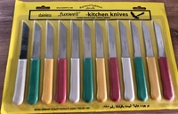 Used Kitchen knives set of 12 brand new  in Dubai, UAE
