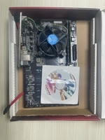 Used Core i 5 4th gen cpu with mother and ram in Dubai, UAE