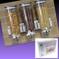 Used 3 CEREAL DISPENSING CANISTERS  in Dubai, UAE