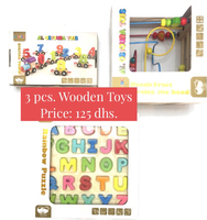 Used Assorted wooden toys  in Dubai, UAE