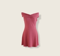 Used Forever21 Coral Knit Dress in Dubai, UAE