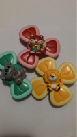 Used Cute cartoon suction cup sprinner toy pa in Dubai, UAE