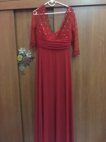 Used Party Red Dress Size 46 in Dubai, UAE