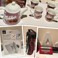 Used Bundle of milka set & silver cleaner &.. in Dubai, UAE