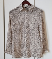 Used Mango chiffon blouse in Dubai, UAE