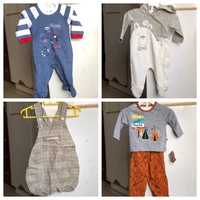 Used New 4 branded baby boy👦dress with tag🏷 in Dubai, UAE