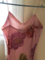 Used Ladies' Long Floral Dress with Shawl S-M in Dubai, UAE