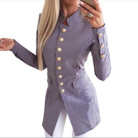 Used Stand collar Jacket slim fit size M in Dubai, UAE