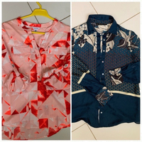 Used Two blouses  in Dubai, UAE