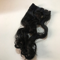 Used New invisible hair extension (60)cm in Dubai, UAE