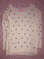 Used Polka Dotted Sweater  in Dubai, UAE
