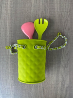 Used Fashion Cutlery Holder NEW+gift in Dubai, UAE