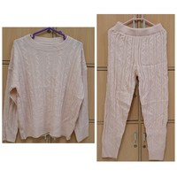 Used Knitted sweater and pant, large size ! in Dubai, UAE