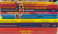 Used 10 Horrid Henry Books  in Dubai, UAE