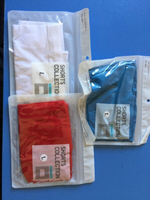 Used Shorts for Boys -3pc (Blue,Red, White) in Dubai, UAE