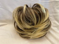 Used Ash brown messy hair bun extension in Dubai, UAE