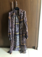 Used Promos shiffon long shirt size L in Dubai, UAE
