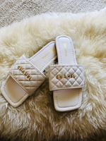 Used White fashion slipper size 40 / EU 38 in Dubai, UAE