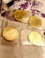 Used 4 coins ( gold plated) new🔴🟠🟢 in Dubai, UAE