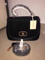 Used New Black Leather Bag  in Dubai, UAE