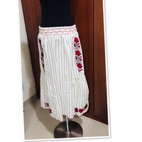 Used Zara Skit floral Embroidered size Small in Dubai, UAE