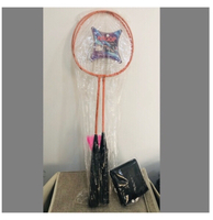 Used Badminton Racket Set+ Free mens Wallet in Dubai, UAE