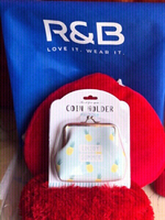 Used New R&B coin holder purse with tag🍍9aed in Dubai, UAE