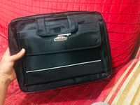 Used Laptop Bag 15.6 inches Black Double Grab in Dubai, UAE