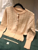 Used Cardigan Apricot color ( M - S) in Dubai, UAE