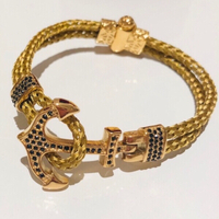 Used Anchor bracelets unisex 2 pcs in Dubai, UAE