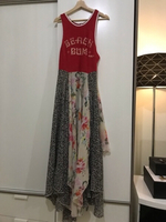 Used Flowery long dress in Dubai, UAE