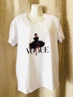 Used Vogue T-Shirt size L asian in Dubai, UAE