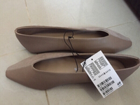 Used new H&M suede & leather flats, 39 in Dubai, UAE