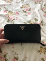 Used Prada Classic Saffiano Wallet AUTHENTIC in Dubai, UAE