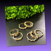 Used FASHIONABLE RINGS IN DIFFERENT SIZES in Dubai, UAE