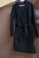 Used Black heavy coat 🧥 size xl (new) in Dubai, UAE