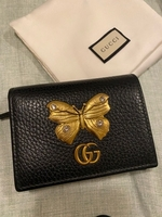 Used Gucci GG leather wallet for women in Dubai, UAE