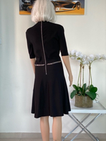 Used Black dress size Medium in Dubai, UAE