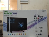 "Used UnionAir L.E.D T.V 43""  FHD Brand New in Dubai, UAE"
