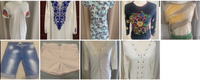 Used Ladies different garments side S/M in Dubai, UAE