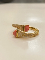 Used Marli gold color ring free size  in Dubai, UAE