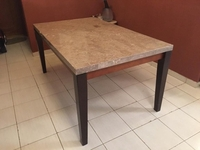 Used Dining Table Marble Top in Dubai, UAE