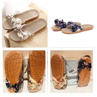 Used Bowknot bohemia sandals 37-38 & 39-40  in Dubai, UAE
