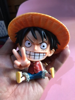 Used ONE piece Luffy figure in Dubai, UAE