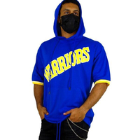 Used Blue hoodie worriers T-shirt M-L-XL in Dubai, UAE