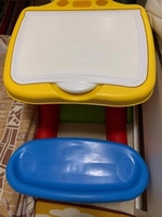 Used Kids Table with storage and chair in Dubai, UAE